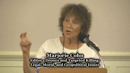 Marjorie Cohn – Killer Drones